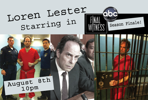 Loren Lester Starring In Final Witness